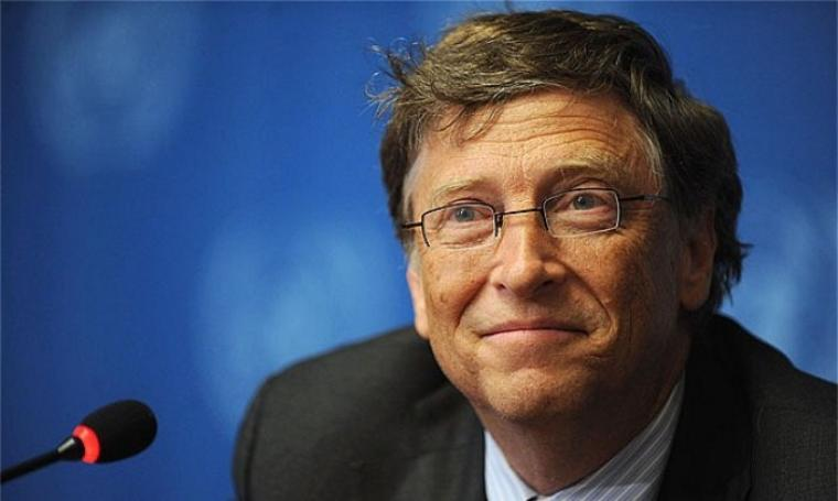Dengan harta sebesar US$ 81,2 milyar yang berpenghasilan US$ 4,3 juta per hari, Bill Gates dinobatkan sebagai orang terkaya sejagad. (Foto:net)