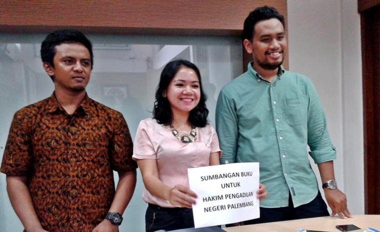 Koalisi Anti Mafia Hutan memastikan akan melapor majelis hakim PN Palembang ke Komisi Yudisial (Bara)
