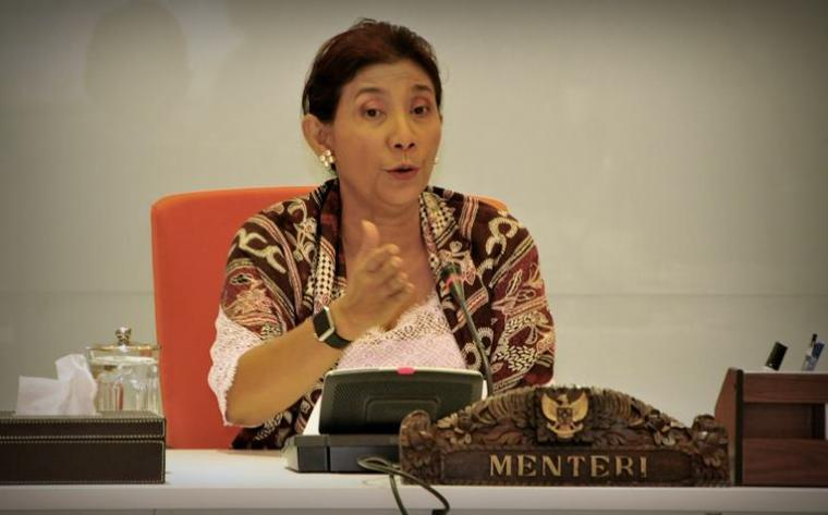 Menteri Kelautan dan Perikanan RI Susi Pudjiastuti (net)