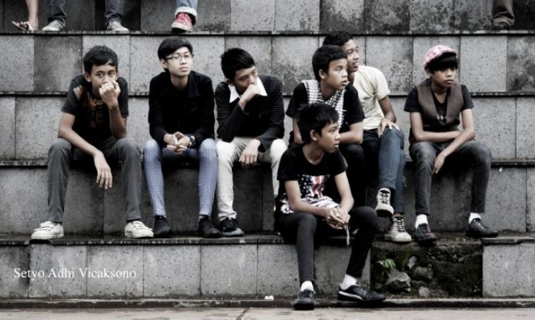 Foto ilustrasi remaja zaman sekarang (Dok:net)