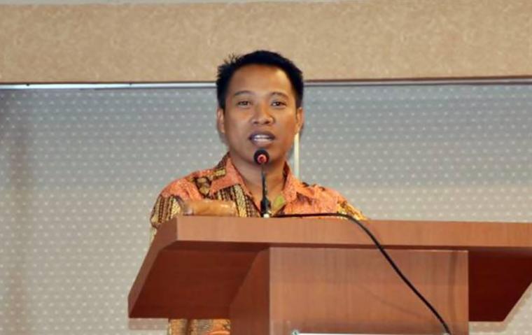 Sekretaris Fraksi Partai Gerindra (FGerindra) di Majelis Permusyawaratan Rakyat (MPR), Elnino M Husein Mohi