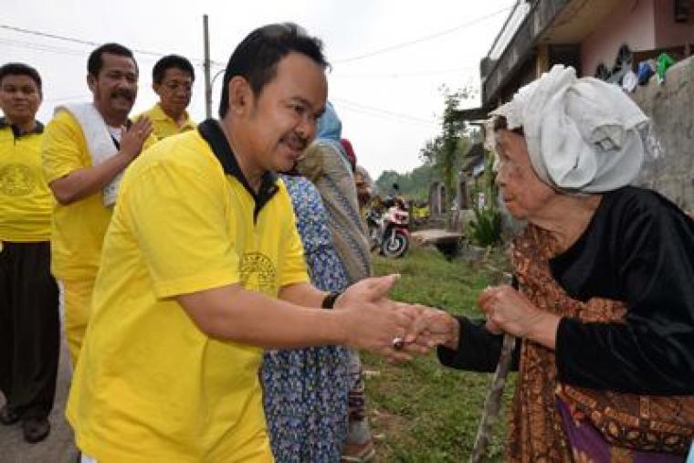 Plt Ketua DPD partai Golkar Kota Serang Tb Haerul Jaman