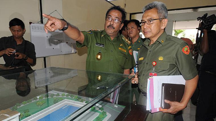 Kepala DSDAP Banten, Iing Suwargi