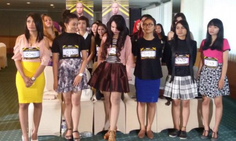 Para peserta audisi Dewi Dewi Mahadewi (Foto:net)