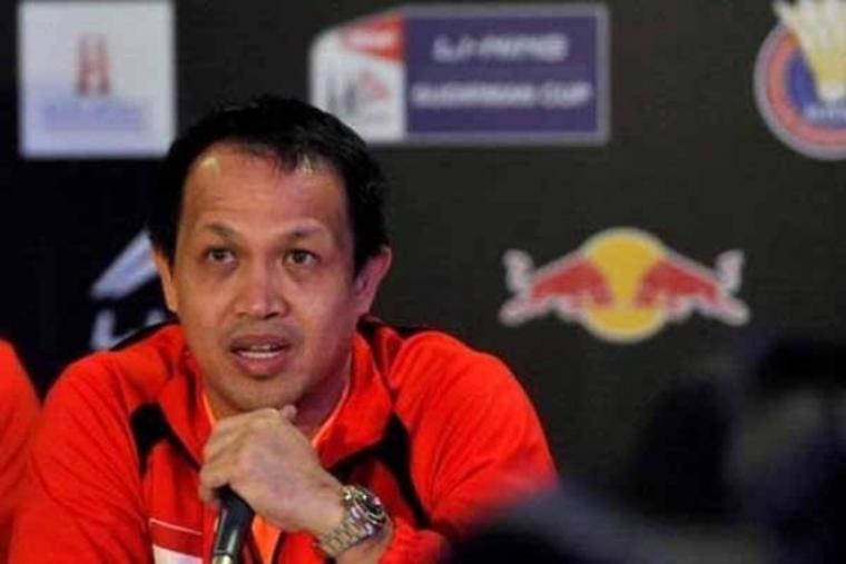 Manager tim Indonesia Rexy Mainaky. (Foto:net)