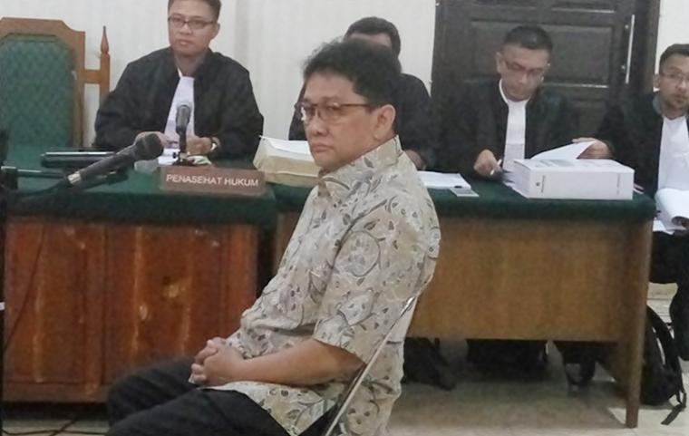 Mantan Direktur PT Banten Global Development Ricky Tampinongkol