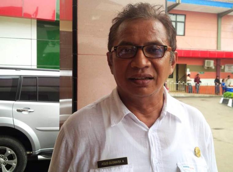 Direktur Rumah Sakit Umum Daerah (RSUD) Dr Drajat Prawiranegara Serang, Agus Gusmara. (Foto:TitikNOL)