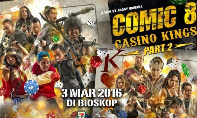 Film Comic 8: Kasino Kings Part 2. (Dok:net)