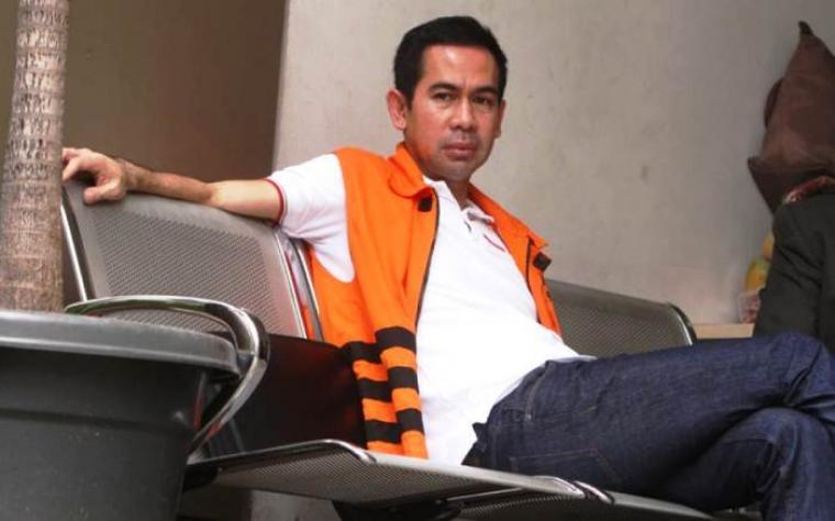 Tubagus Chairi Wardana dipindahkan lagi ke rutan Serang. (Dok:net)