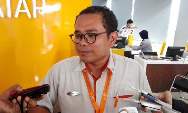 General Manajer (GM) PT. Pelindo II Banten, Chiefy Adi Kusumargono. (Foto:TitikNOL)