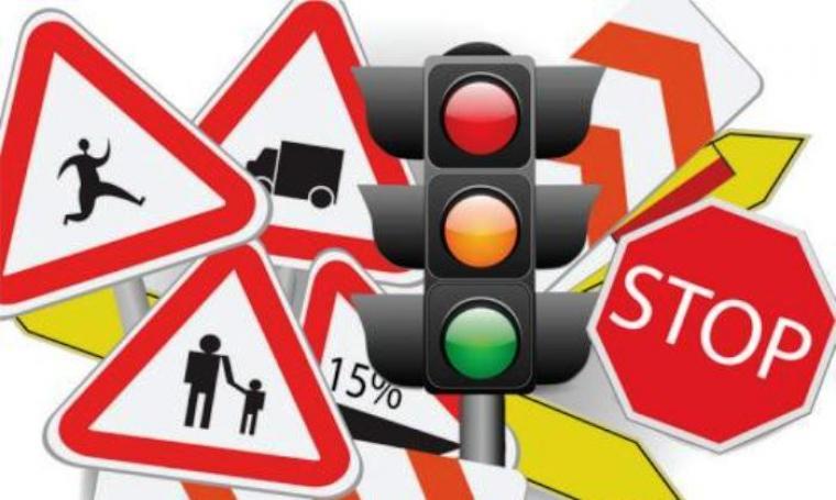 Ilustrasi rambu lalu lintas. (Dok:net)