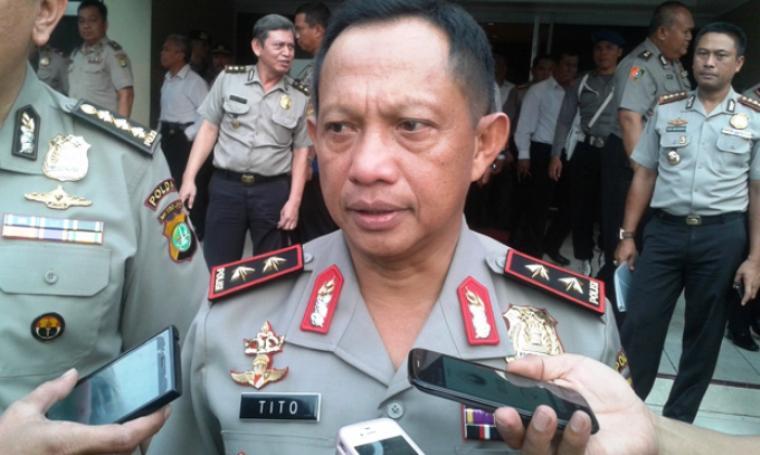 Kapolda Metro Jaya Irjen Tito karnavian menyatakan kasus Jessica tidak usah dihebohkan lagi. (Dok:net)