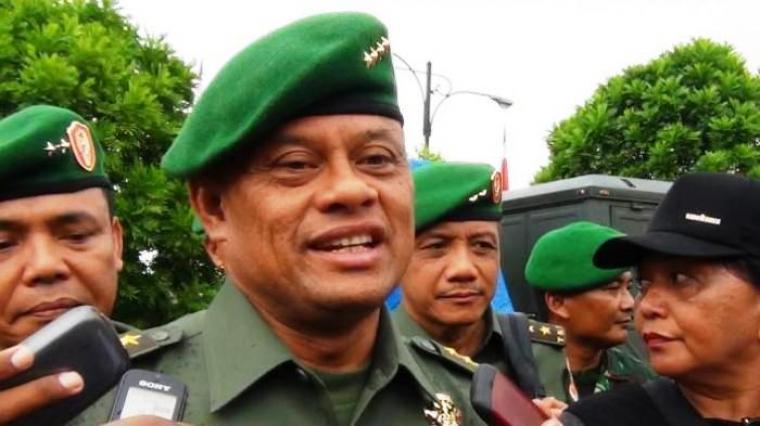 Panglima TNI Jenderal Gatot Nurmantyo. (Dok:net)