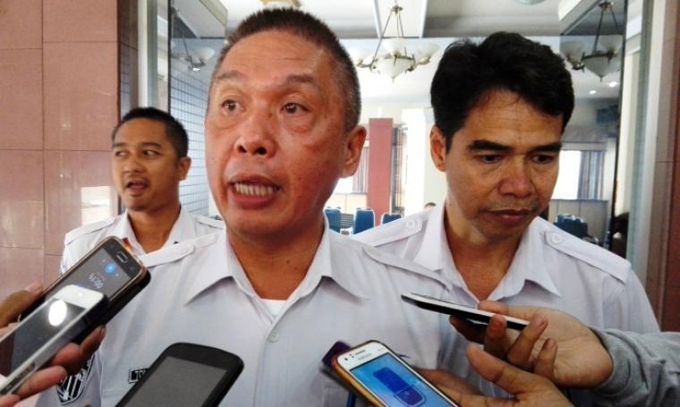 General Manager (GM) PT. ASDP Indonesia Ferry Cabang Utama Merak, Tommy Kaunang. (Foto:TitikNOL)