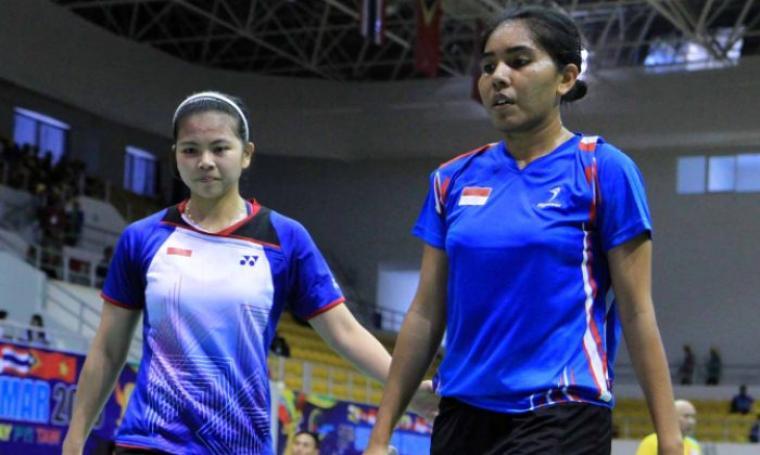 Pasangan puteri Greysia Polii dan Nitya Krishinda Maheswari. (Dok:net)