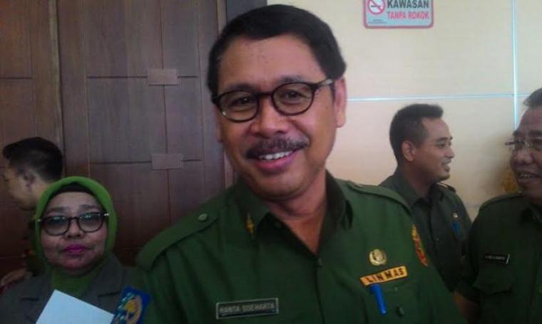 Sekretaris Daerah (Sekda) Banten, Ranta Soeharta. (Dok:net)