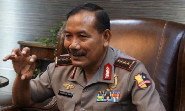 Kapolri, Jenderal Badrodin Haiti. (Dok:net)