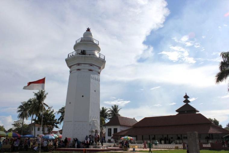 Menara Banten Lama di Kecamatan Kasemen, Kota Serang. (Dok:net)