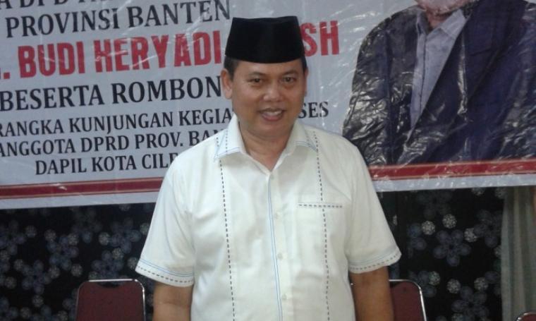 Ketua DPD Gerindra Provinsi Banten, Budi Heryadi. (Dok:net)