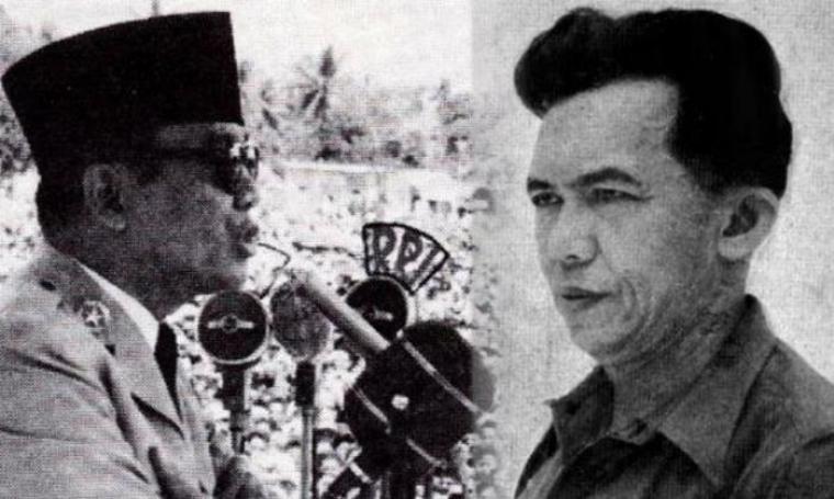 Soekarno dan Tan Malaka. (Dok:net)