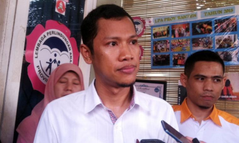 Ketua LPA Provinsi Banten, Iip Syafrudin. (Dok:net)