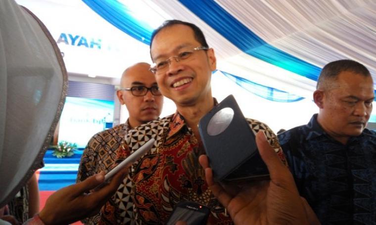 Direktur Utama Bank BJB, Ahmad Irfan. (Foto:TitikNOL)