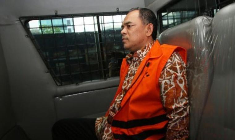 SM Hartono dipindahkan ke Lapas Klass IIA, Serang. (Dok:net)