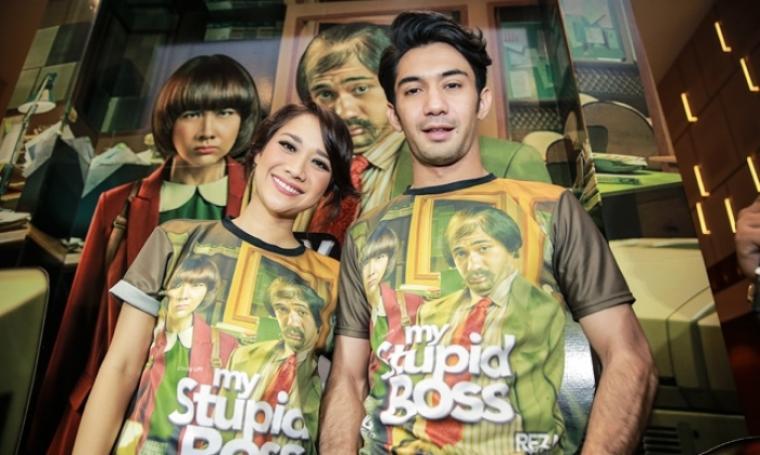 Bunga Citra Lestari dan Reza Rahadian, pemeran film My Stupid Boss. (Dok:net)
