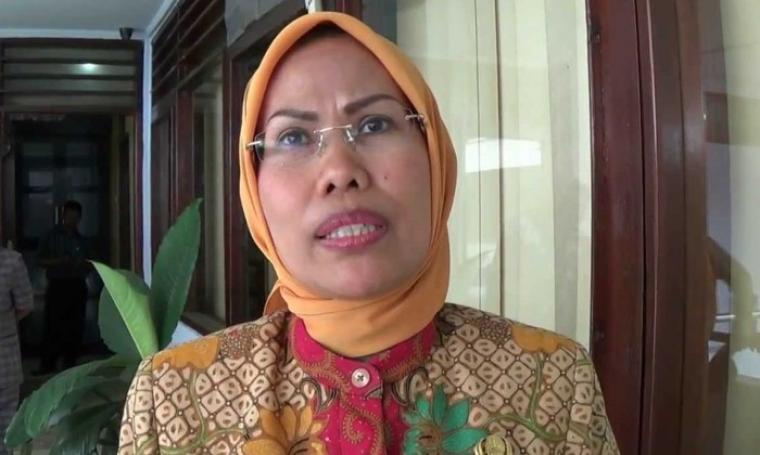 Bupati Serang, Ratu Tatu Casanah. (Dok:net)