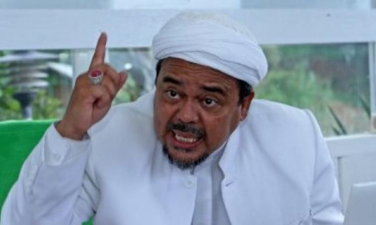 Ketua Front Pembela Islam (FPI), Habib Rizieq. (Dok:net)