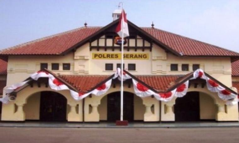 Polres Serang, Banten. (Dok:net)