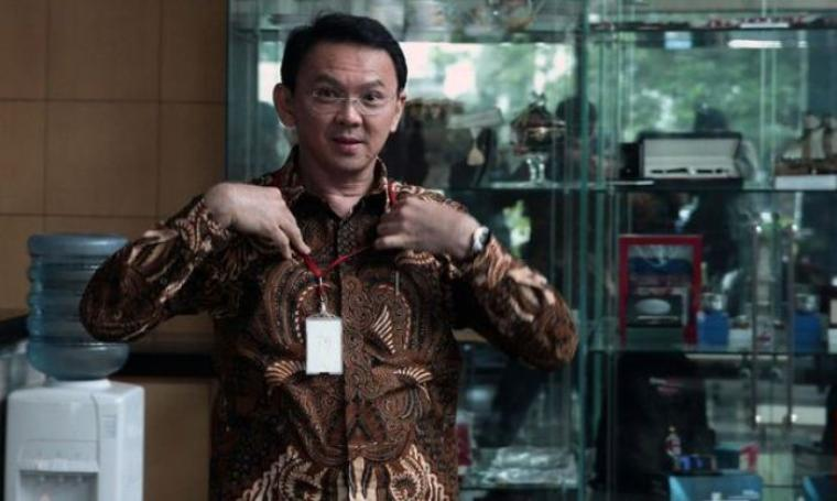 Gubernur DKI Jakarta saat di gedung KPK. (Dok:net)