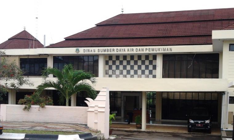 Kantor DSDAP Provinsi Banten. (Dok:net)