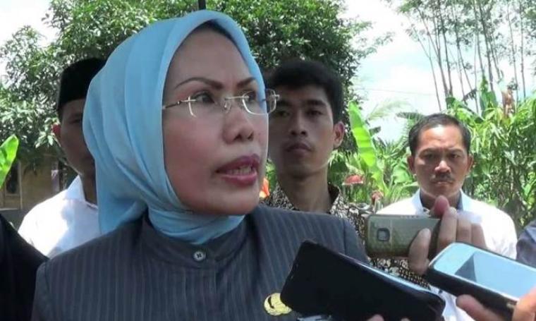 Bupati Serang, Ratu Tatu Chasanah. (Dok:net)