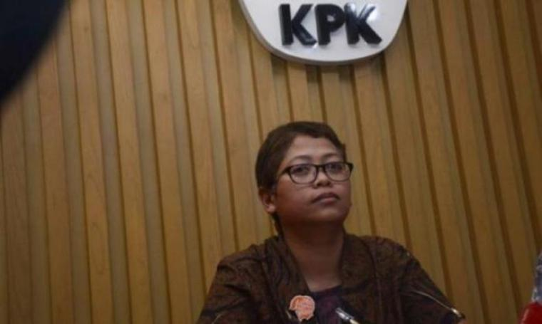 Pelaksana harian Kabiro Humas KPK, Yuyuk Andriati. (Dok:net)