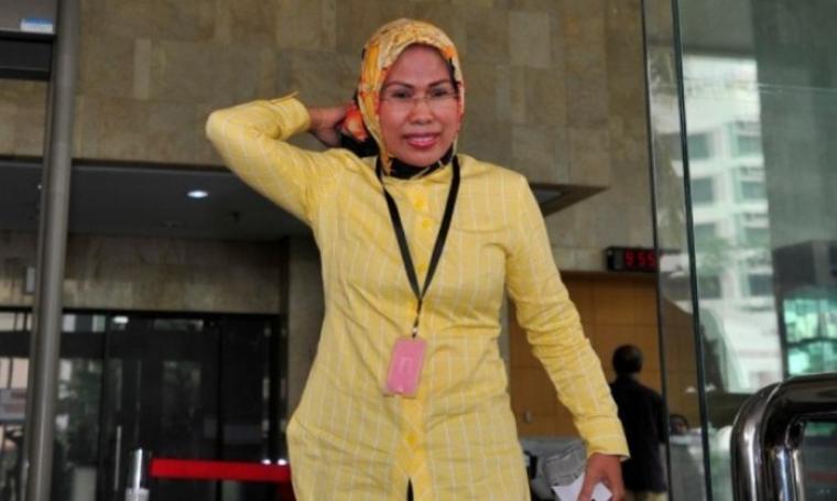 Ketua DPD I Partai Golkar Provinsi Banten, Tatu Chasanah. (Dok:net)