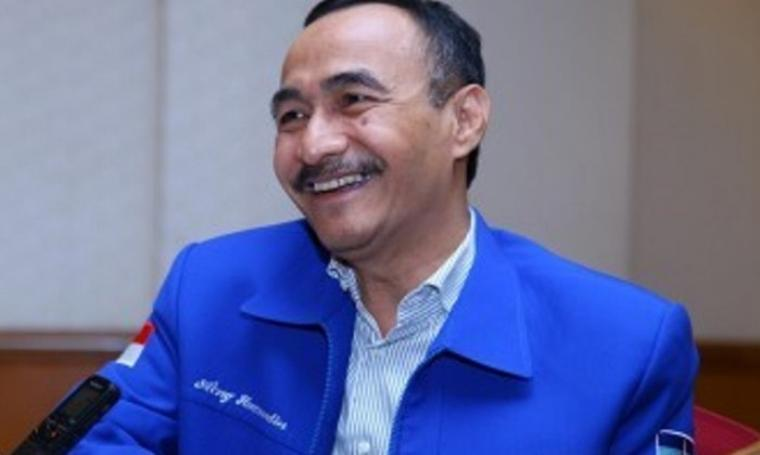 Plt Ketua DPD Demokrat Banten, Aeng Haerudin. (Dok:net)