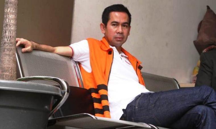 Tersangka kasus Tindak Pidana Pencucian Uang, Tubagus Chaeri Wardana. (Dok:net)