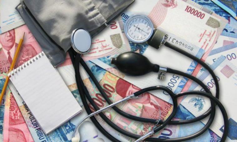 Ilustrasi Korupsi alat kesehatan. (Dok:net)