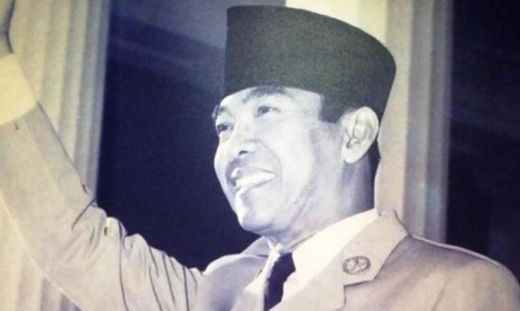 Presiden Pertama Republik Indonesia, Ir. Soekarno Hatta. (Dok:net)