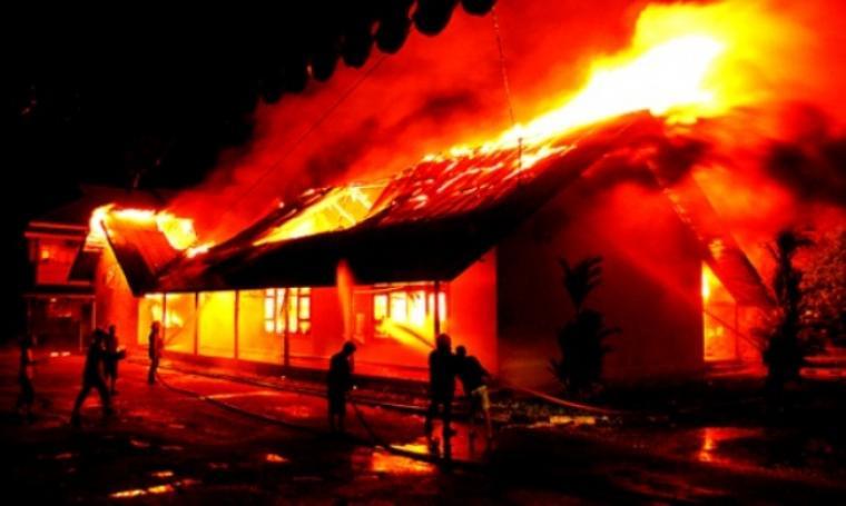 Ilustrasi kebakaran. (Dok: Tempo)