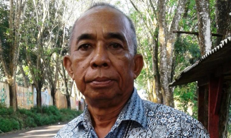 Ketua PWI Kabupaten Lebak, Ahya. (Foto: TitikNOL)