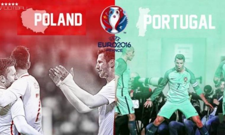 Ilustrasi Polandia vs Portugal. (Dok: Kabarbola)