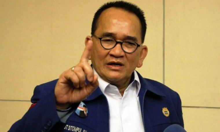 Anggota Komisi III DPR RI dari Fraksi Partai Demokrat, Ruhut Sitompul. (Dok: Diposkan)