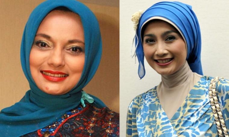 Marissa Haque dan Desy Ratnasari. (Dok: Kapanlagi)