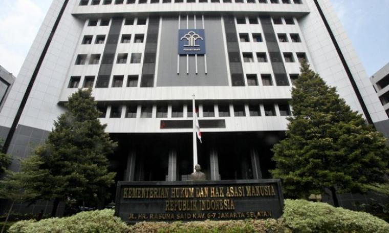 Kantor Kementerian Hukum dan HAM. (Dok: Detik)