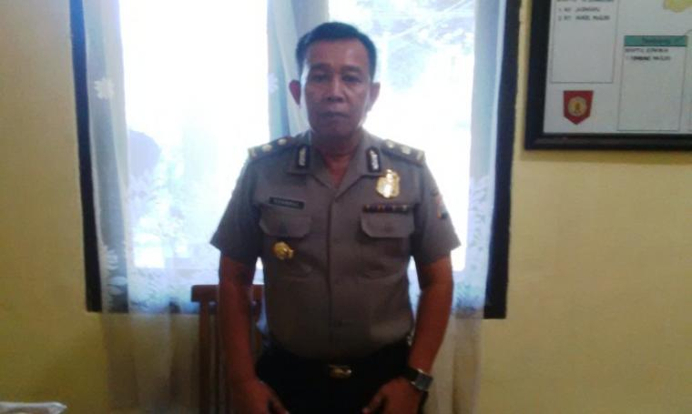 Kapolsek Cipocok Jaya, Kompol Syahrul saat di temui awak media diruangannya. (Foto: TitikNOL)