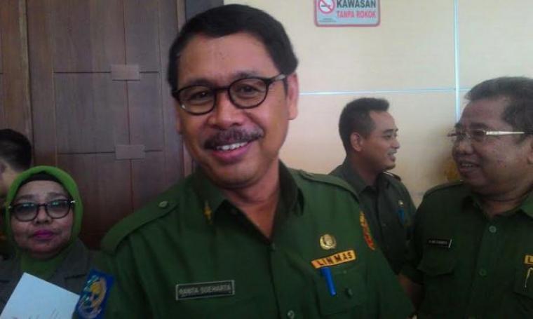 Sekretaris Daerah (Sekda) Provinsi Banten Ranta Soeharta. (Dok:net)
