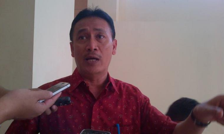 Kepala Dinkes Banten M Yanuar menjelaskan kesiapan dinkes menghadapi arus mudik Lebaran 1437 Hijriyah. (Foto: TitikNOL)