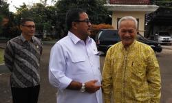 Kapolda Banten Brigjen Pol Listyo Sigit Prabowo saat meninjau Pelabuhan Merak. (Foto: TitikNOL)